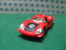 Ancien   -   ALFA ROMEO 33 Le Mans Coda lunga   - 1/43  Dinky toys 210