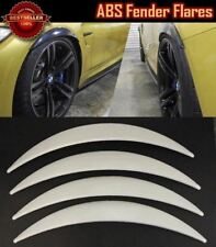 """4 Pieces Glossy White 1"""" Diffuser Wide Body Fender Flares Extension For Chevy"""