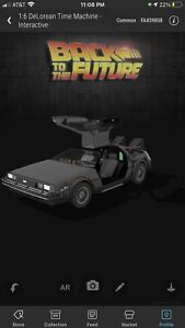 VeVe DeLorean Time Machine 1:6 NFT Back to the Future Series FA:39808