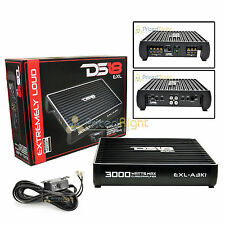 DS18 EXL-A3K1 Monoblock 3000 Watts Max Amplifier 1 Channel Mono Amp Car Stereo
