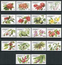 Dominica 1981 Blumen Flowers Früchte Fruits Plants 730-47 I (18) Postfrisch MNH