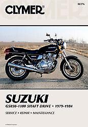 Clymer Repair Service Shop Manual Vintage Suzuki GS850G/GL GS1000G/GL M376