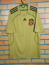 Spain Jersey 2008 2010 Away L Shirt Mens Football Soccer Camiseta Adidas