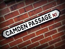 Camden Passage Faux Cast Iron Old Fashioned Street Sign Road Sign