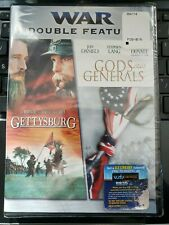 Gettysburg - Gods & Generals (DVD) War Double Feature  Widescreen
