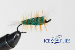 ICE FLIES. Bomber. Green machine (3-pack) Pick a size. Fly Fishing Fly