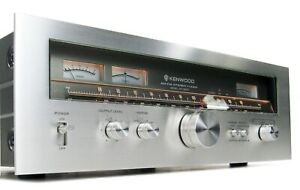 KENWOOD KT-8300 VINTAGE AM FM STEREO TUNER SERVICED MINT IN BOX W MANUAL * NICE!