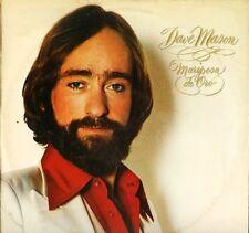 DAVE MASON mariposa de oro 82625 A2/B1 early pressing uk cbs 1978 LP PS EX/EX