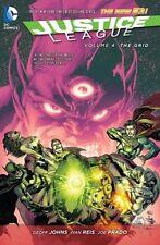 DC COMICS NEW 52 JUSTICE LEAGUE VOL 4 THE GRID HC HARDCOVER CYBORG SUPERMAN