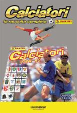 ALBUM PANINI CALCIATORI LA RACCOLTA COMPLETA 1994-95 1995 GAZZETTA DELLO SPORT