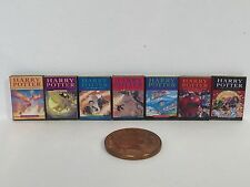 Harry Potter books for dolls house x 7 1:12th scale