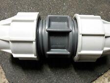 Plasson PE-Rohr Kupplung 40 x 40 mm, Verbinder