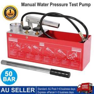 5000kpa Test Bucket Plumbing Hydrostatic Pressure Pump 12L Gas /Water