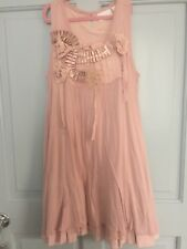 Next Signature Girls Dusky Pink Embellished Triple Layered Tunic Age 12 Years