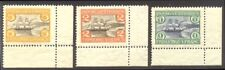 DANISH WEST INDIES #37-39 Mint VF NH - 1905 Harbor Set