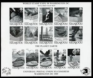 Niuafo'ou Scott #130 MNH PROOF UPU XX Congress 1989 Washington DC $$