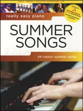 Really Easy Piano Summer Songs Sheet Music Book Beach Boys Bob Marley