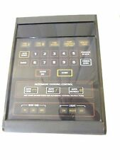 GE Control Panel Assembly WB07X10883 From JVM3670CF03 Microwave