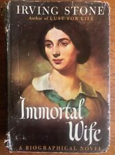 Immortal Wife, by Irving Stone, Hardcover 1944