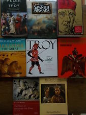 Job Lot Collection 8 History Books figures Helen of Troy Spanish Armada Troy VGC