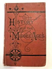 History of the Middle Ages 1878 Catholic Roman Histories Book First Edition