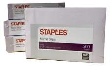 """4"""" x 6"""" Staples Notepad Paper - 2000 Sheets 