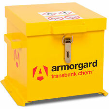 More details for armorgard transbank chem chemicals secure storage box 403mm 415mm 365mm