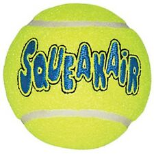 KONG Air Squeakers Tennis Ball Dog Toy 3 Small Balls - BRAND