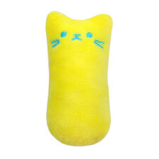 Funny Interactive Cat Plush Toy Pillow Kitten Activity Play Toys Catnip Inside