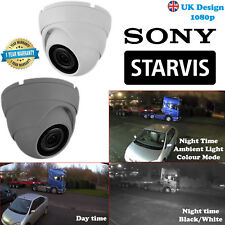 More details for 1080p sony starvis dome cctv camera 2.4mp 3.6mm lens hdtvi ahd hdcvi uk specs