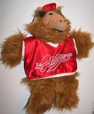Vintage 1988 Burger King Alf Plush Hand Puppet Orbiters Baseball Team