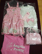 Angelic Pretty lucky pack  Blouse & Jumper Skirt etc 5 items PINK pattern design