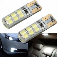 T10 194 W5W Canbus 12smd 2835 Silicone Shell LED Lights Bulb No Error Lamp