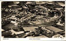 Bugle. Aerial View # 33117 by Aerofilms. Railway.