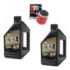 Maxima Synblend4 oil & K&N filter service kit Yamaha WR450F 2003-2015