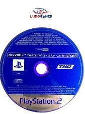 Mx2002 Featuring Ricky Carmichael Promo Mint Condition CD PS2 Playstation Retro