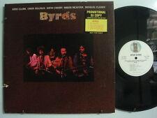 BYRDS ROCK Promo LP ASYLUM Gene Clark DAVID CROSBY