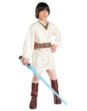 "STAR Wars Bambini Obi Wan Kenobi Costume Stile 1,med, età 5-7, altezza 4' 2"" - 4' 6"""