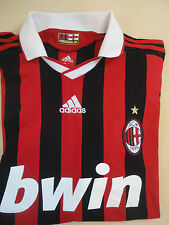ADIDAS AC Milan Official Football Jersey Soccer Shirt World Cup 2014 ClimaCool