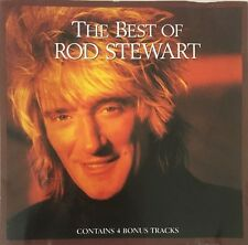 ROD STEWART THE BEST OF ROD STEWART CD COMPILATION WARNER BROS EUROPEAN PRESSING