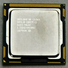 INTEL I3 I3-560 3.33 GHZ SLBY2 DUAL CORE S.1156 PROCESSOR CPU ONLY
