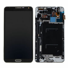 Black For Samsung Galaxy Note 3 N9005 LCD Display Touch Screen Digitizer+ Frame