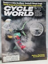 Cycle World Magazine September 1979 Kawasaki KLX250 Honda XL500 Suzuki GS425