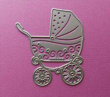 Die cutting - matrice de coupe - poussette - landau bebe enfant - baby stroller