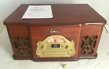 New listing Vintage Emerson Nr130 Heritage Series Home Stereo Am/Fm Turntable Cd Player
