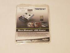Trendnet Micro Bluetooth USB Adapter Wireless TBW-107UB