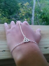 Irish Celtic Triquetra Trinity Knot   bracelet