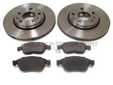 RENAULT FLUENCE 1.5 DCi, 1.6 2009-2017 FRONT 2 BRAKE DISCS AND PADS SET NEW