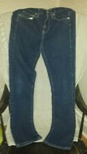 Genuine CALVIN KLEIN Skinny Med Wash size 6 Blue Jeans (#2) FREE SHIPPING CAN US