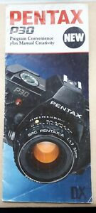 Original Advertising Leaflet PENTAX P30 35mm SLR Camera, Photographic Ephemera